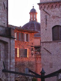 Assisi, Italy via Cobalt Violet