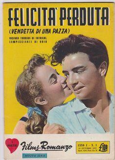 Film-Romanzo FELICITA' PERDUTA con L. Baarova, M. Doro, J. Plessis 1955   -L5317