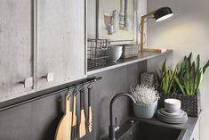 Black Red White - kuchnia Senso Kitchen  #brw #blackredwhite #furniture #retro #interior #interiordesign #inspiration #home #homeinspiration #design #homedecor #decoration #homedecoration #kitchen #grey #kitchendesign
