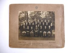 1920s Dulwich College Lower Third B Class Photo  English Public School London by FillyGumbo