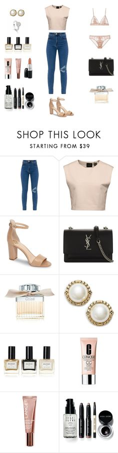 """""""Untitled #44"""" by margiewithers ❤ liked on Polyvore featuring Puma, Vince Camuto, Yves Saint Laurent, Chloé, Bucherer, Jenny Packham, Balmain, Clinique, Lancer Dermatology and Bobbi Brown Cosmetics"""