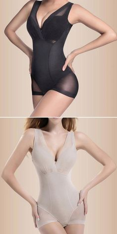 Seamless Full Body Shaperwear Body Shaper Slimming Shape Underwear #fashion #style