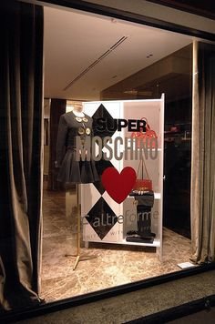 MOSCHINO loves ALTREFORME (Window with Camicia Cabinet), pinned by Ton van der Veer