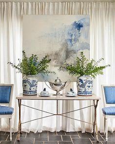 blue green home interior design colors