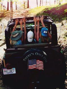 top down, american pride #usa