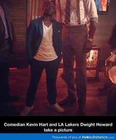 Kevin Hart and Dwight Howard...hahahahaha I love Kevin so much.