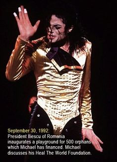 Michael's Charity Work  :) | Curiosities and Facts about Michael Jackson ღ by ⊰@carlamartinsmj⊱