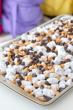 Click our bio link for this tasty Puppy Chow Recipe from @Pankobunny and find out how to win our Sleepover Party Giveaway for you and 3 of your friends!