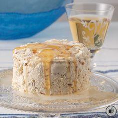 Icebox Pie, Greek Yogurt, Gelato, Vanilla Cake, Sweet Recipes, 4th Of July, Food And Drink, Cooking Recipes, Ice Cream