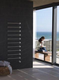 Sèche-serviettes électrique / vertical / en métal / mural T39EL VOLA