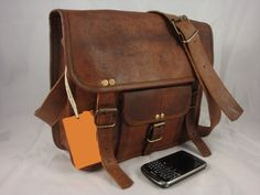 Best Leather Messenger Bag for A4 Folders   by qualitystreet1 Ipad Bag 9c6742c0685d7