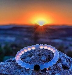 The Lokai Bracelet serves as a reminder to stay positive through the highs and lows of life. The black bead is injected with mud from The Dead Sea and the white bead is injected with water from Mt. Everest. The highest and lowest points on earth.