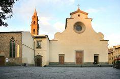 Basilica Santo Spirito, Firenze 1446, Filippo Brunelleschi