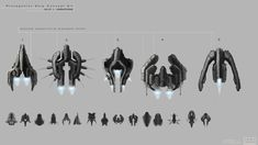 TopDown shooter ship concepts by ikarus-tm on DeviantArt Cyberpunk 2077, Space Ship One, Top Down Game, Sci Fi Games, Starship Concept, Sci Fi Spaceships, Game Gem, Space Games, Sci Fi Ships