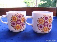 Alföldi bögrék hiánypótlásra Teapots, Retro Vintage, Cups, Tableware, Mugs, Dinnerware, Tablewares, Dishes, Place Settings