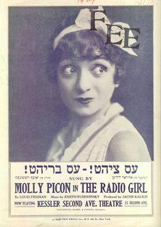 Molly Picon.
