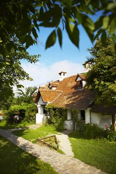 Cottage at Count Kalnoky's estate, Miklosvar. Cheap Places To Travel, Cheap Travel, Romania Travel, International Travel Tips, Travel Aesthetic, Travel And Leisure, Travel Abroad, Travel Essentials, Holiday Travel