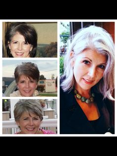 stunning!!!! the next time someone tells me grey hair is frumpy i'm showing them this!!!