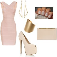 A fashion look from September 2013 featuring robes longues, chaussures à plate-forme et pink purse. Browse and shop related looks.