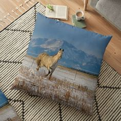Floor Pillows, Throw Pillows, Gifts For Horse Lovers, Happy Shopping, Pillow Covers, Horses, Flooring, Dance, Group