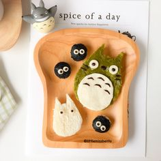 Totoro Bread Foodart