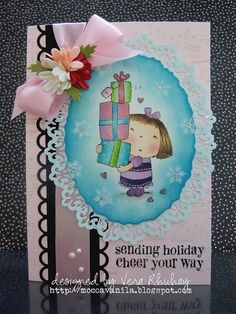 Sending holiday cheer by Vera Rhuhay, via Flickr
