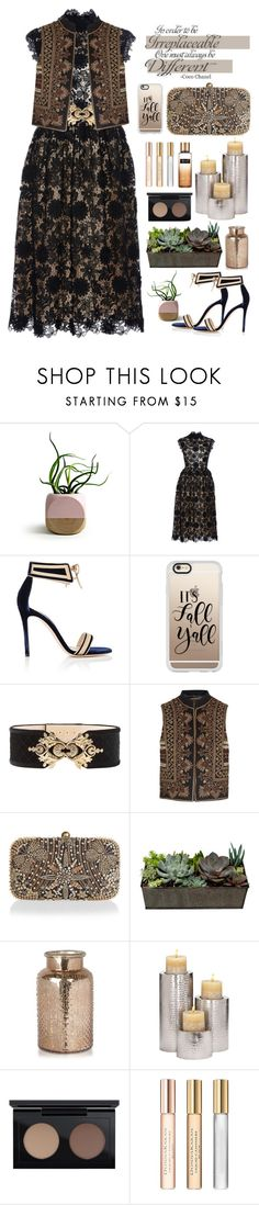 """14.09.17-3"" by malenafashion27 ❤ liked on Polyvore featuring Costarellos, Gianvito Rossi, Casetify, Balmain, Etro, Accessorize, MAC Cosmetics, Donna Karan, Victoria's Secret and Chanel"