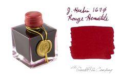 J. Herbin Rouge Hematite 1670 Anniversary Ink
