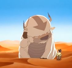 """""""What's up,"""" -Toph to Appa...lol Toph and Appa's conversations(:"""