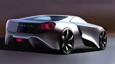 This a reinterpretation of the Nissan GTR, how would it look in 2025