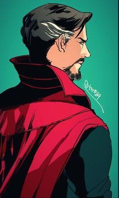 Marvel Fan Art, Marvel Films, Marvel Heroes, Marvel Characters, Marvel Avengers, Doctor Strange Comic, Doc Strange, Doctor Strange Drawing, Johnlock