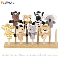 Wild Animal Finger Puppets from our Luxury Childrens Toys and Games with Net Day Delivery. Shop Puppets and Soft Toys at The Original Party Bag Company Childrens Party Bags, Party Bag Fillers, Finger Puppets, Kids Bags, Place Card Holders, Toys, Cute, Crafts, Music Therapy
