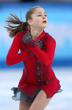 SOCHI, RUSSIA - FEBRUARY 09: Yulia Lipnitskaya of Russia competes in the Team Ladies Free Skating during day two of the Sochi 2014 Winter Olympics at Iceberg Skating Palace onon February 9, 2014 in Sochi, Russia. (Photo by Matthew Stockman/Getty Images)
