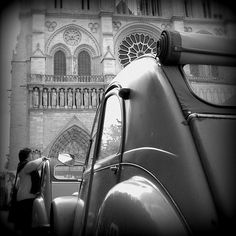 1956 Paris - 2CV French Classic, Classic Cars, My Dream Car, Dream Cars, Automobile, 2cv6, Small Cars, Car Humor, Paris