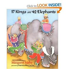17 Kings And 42 Elephants (Dial Books for Young Readers): Margaret Mahy, Patricia MacCarthy Elephant Book, Elephant Nursery, Margaret Mahy, Reading Projects, Library Activities, Teaching Math, Maths, Math Literacy, Guided Math