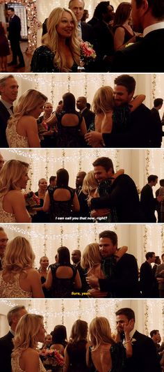 Arrow 6x09 in which Oliver gets parented by Mama Smoak AND Lance :D