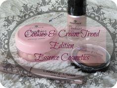Princesa Miel Blog: COOKIES & CREAM TREND EDITION - ESSENCE COSMETICS - para ver el post completo solo visita http://salissaprincess.blogspot.com/2014/11/cookies-cream-trend-edition-essence.html