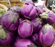 how to cook round purple eggplant