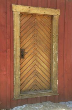 herringbone door, solanco house tour 2014