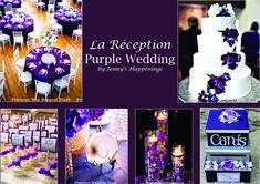 Wedding Decorations, Wedding Ideas, Wedding Event Planner, Wedding Pinterest, Purple Wedding, Elegant Wedding, Marie, Wedding Cakes, Shit Happens
