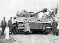 Panzerkampfwagen VI Tiger (8,8 cm L/56) (Sd.Kfz. 181) Ausf. E (Stadtgas)
