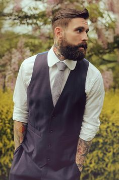 Beard is a little too think for my taste but still an attractive guy