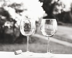 """Two Glasses on Rail""- After the wine is gone, the glasses remain. Great for bar, dining or kitchen decor. Professionally printed upon order. My photographs are professionally print Wine Photography, Photography Classes, Modern Photography, People Photography, Vintage Photography, Portrait Photography, Photography Ideas, Black And White Portraits, Black And White Pictures"
