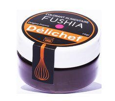 Colorant alimentaire fushia en poudre Délichef