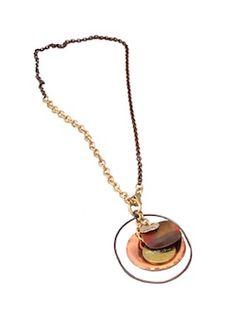 Trendy Jewelry | Twisted Silver | Celebrity Jewelry | Funky Jewelry - Grace necklace