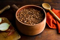 A Big Pot of Simmered Pintos by Martha Rose Shulman
