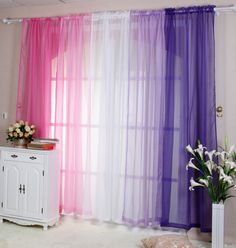 Best value Cheap Custom Curtains – Great deals on Cheap Custom Curtains from global Cheap Custom Curtains sellers Purple Bedroom Decor, Girls Bedroom, Home Decor Furniture, Diy Home Decor, House Wall Design, Rainbow Room, Daughters Room, Curtain Designs, Custom Curtains