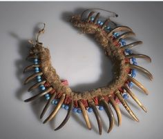 Gros Ventre/A'aninin necklace.  AMNH  ac