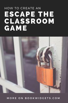 How to create an escape the classroom game - Free lesson examples - BookWidgets Fun Classroom Activities, Classroom Ideas, Escape The Classroom, Breakout Game, Mastery Learning, Just A Game, Blended Learning, Word Games, Escape Room