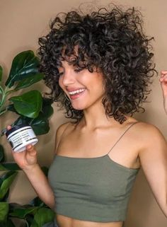 Lace Frontal Wigs Naturally Curly Hair Oval Face Hairstyles For Very Curly Hair Best Women Curly Wigs Dutch Braid Curly Hair Haircuts For Curly Hair, Curly Hair Cuts, Curly Wigs, Thin Hair, Curly Hair With Fringe, Naturally Curly Hairstyles, Short Natural Curly Hairstyles, Bohemian Curly Hair, Pixie Haircuts